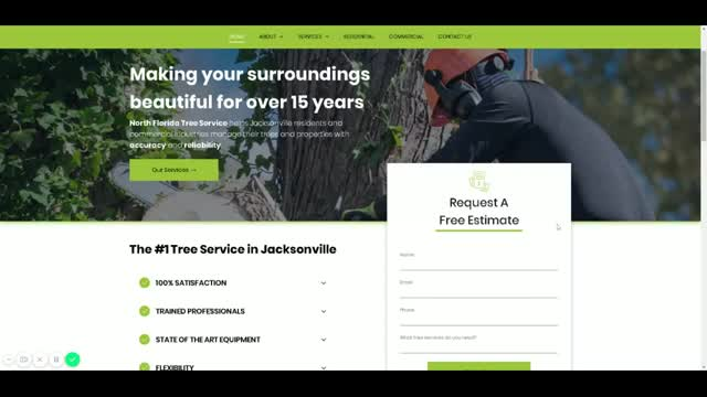 Watch and share Jacksonville Tree Trimming GIFs by henrivinz on Gfycat