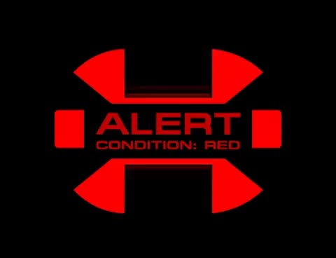 Watch and share Star Trek Red Alert Screen GIFs on Gfycat