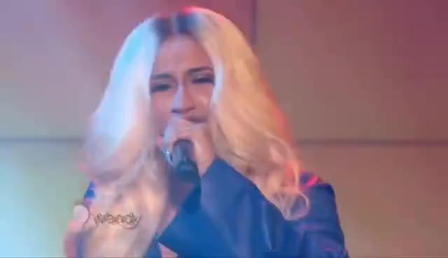 "Watch and share Cardi B Performs ""Bodak Yellow"" GIFs on Gfycat"