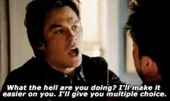 Watch and share The Vampire Diaries GIFs and Damon X Salvatore GIFs on Gfycat