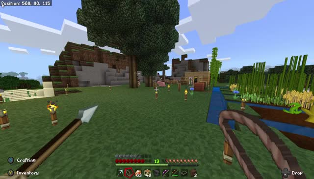 Watch and share Minecraft 15 03 2019 12 53 06 PM GIFs on Gfycat