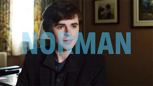 Watch and share Freddy Highmore GIFs and Norman Bates GIFs on Gfycat