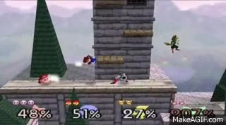 Watch Super Smash Bros. 64 - 4 Player FFA (Gameplay and Commentary) GIF on Gfycat. Discover more related GIFs on Gfycat
