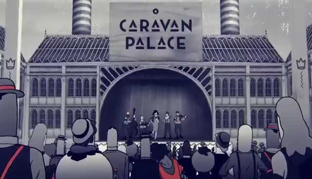 Watch and share Caravan Palace GIFs on Gfycat