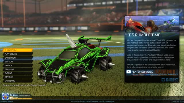Watch and share Rocket League GIFs and Rumble GIFs by Ticktok on Gfycat