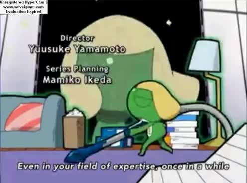 Watch and share Keroro Gunsou GIFs and Cleaning GIFs on Gfycat