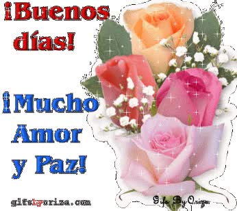 Watch and share Hola Buenos Dias Gif animated stickers on Gfycat