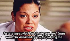 Watch and share Grey's Anatomy GIFs and Callie Torres GIFs on Gfycat