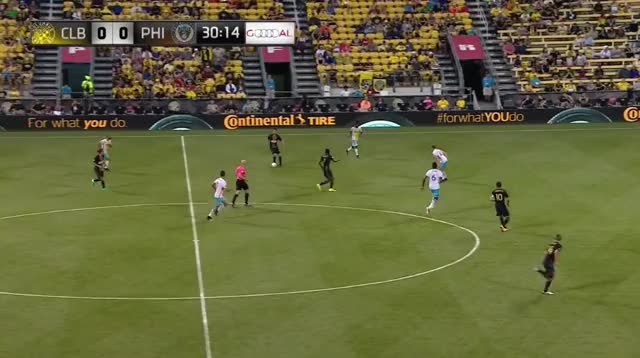 Watch and share Bedoya Evades Pressure, Herbers Chance GIFs by Evercombo on Gfycat