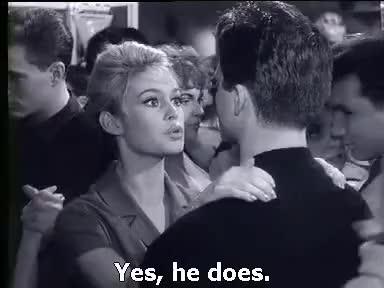 Watch and share En Cas De Malheur. Love Is My Profession.   Brigitte Bardot, Jean Gabin 1958 Sub English GIFs on Gfycat