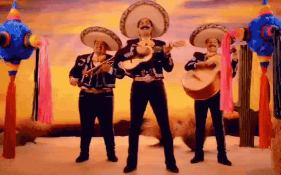 Mariachi, bday, best, birthday, cake, celebrate, confetti, fiesta, happy, happy birthday, mexican, mexico, party, sobrero, to, wishes, yay, you, Happy birthday GIFs