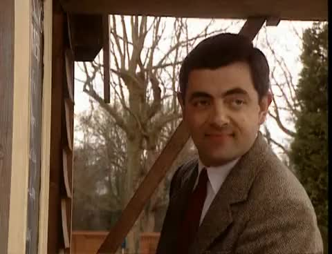 Watch and share Mr Bean Plays Golf GIFs on Gfycat