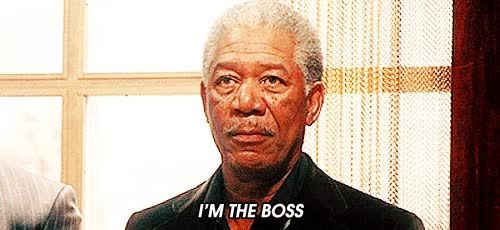 Watch im the boss morgan freeman GIF on Gfycat. Discover more related GIFs on Gfycat