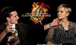 Watch and share Jennifer Lawrence GIFs and Peeta And Katniss GIFs on Gfycat