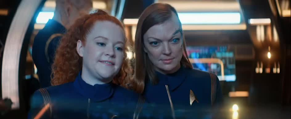 DSC, Discovery, Emily Coutts, Keyla Detmer, Mary Wiseman, Star Trek, Star Trek: Discovery, Sylvia Tilly, Tilly, I Stand Corrected GIFs