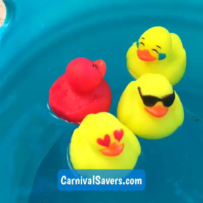 Watch and share Floating Ducks GIFs and Rubber Ducks GIFs by Carnival Savers on Gfycat