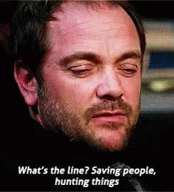 Watch Crowley Supernatural GIF on Gfycat. Discover more mark a. sheppard GIFs on Gfycat