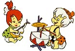 Watch and share Pebbles Flintstone animated stickers on Gfycat