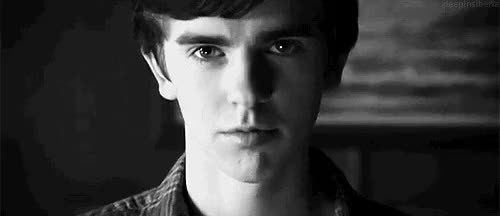 Watch and share Freddie Highmore GIFs and Alfred Hitchcock GIFs on Gfycat