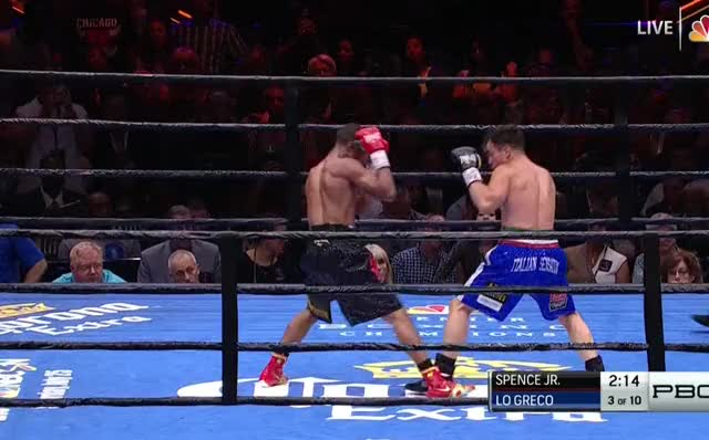 Watch Errol Spence dominates Phil Lo Greco on the inside (beta) GIF by Tom_Cody (@tomcody) on Gfycat. Discover more Boxing, Errol Spence, Phil Lo Greco GIFs on Gfycat