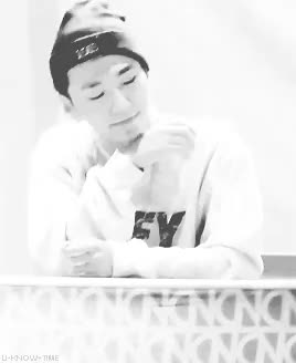 "Watch ""N""N GIF on Gfycat. Discover more b.a.p, bang yongguk, bap, cr: ë°¥ê¹Œì'´. com, daegu fansign, he looks like an angel, is2g, my gif, yongguk GIFs on Gfycat"