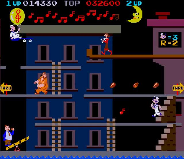 Watch and share Arcade Game: Popeye (1982 Nintendo) GIFs on Gfycat