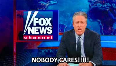 Watch and share Nobody Cares GIFs and Jon Stewart GIFs on Gfycat