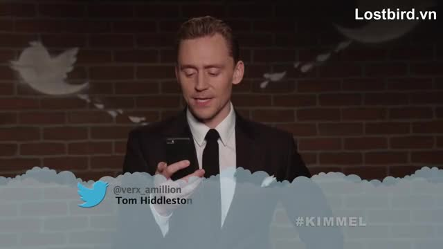 Watch Mean Tweets – Avengers Edition GIF on Gfycat. Discover more clip, comedian, comedic, comedy, funny, jimmy, jimmy kimmel, jimmy kimmel live, late night, talk show, tom hiddleston GIFs on Gfycat