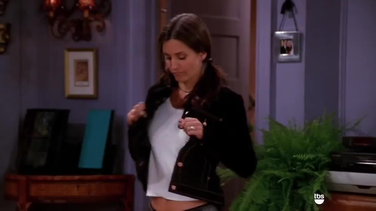 Friends, NBC, Sitcom, dancing, friends, nbc, sitcom, tbs, television, tv, tv show, Strip Tease | Friends | TBS GIFs