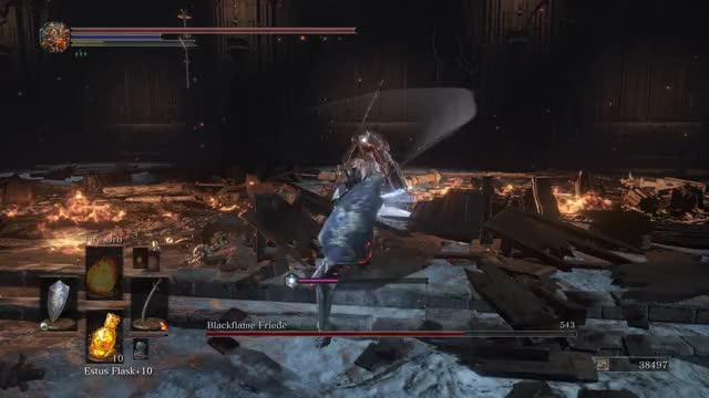 Watch and share Dark Souls 3 Ashes Of Ariandel: Sister Friede And Father Ariandel Boss Fight (4K 60fps) GIFs on Gfycat