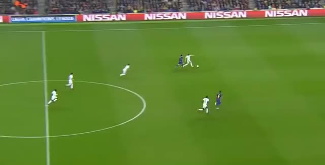 Watch and share Ousmane Dembele Goal Barcelona 2 - 0 Chelsea 2018 GIFs on Gfycat