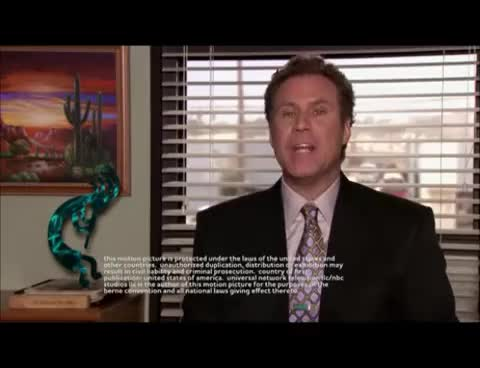 Watch and share Will Farrel GIFs and The Office GIFs on Gfycat