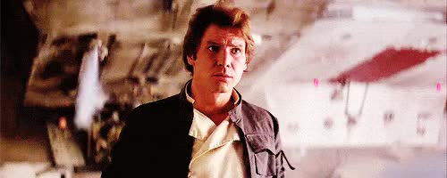 Watch and share Me, Harrison, Ford, Han, Solo GIFs on Gfycat