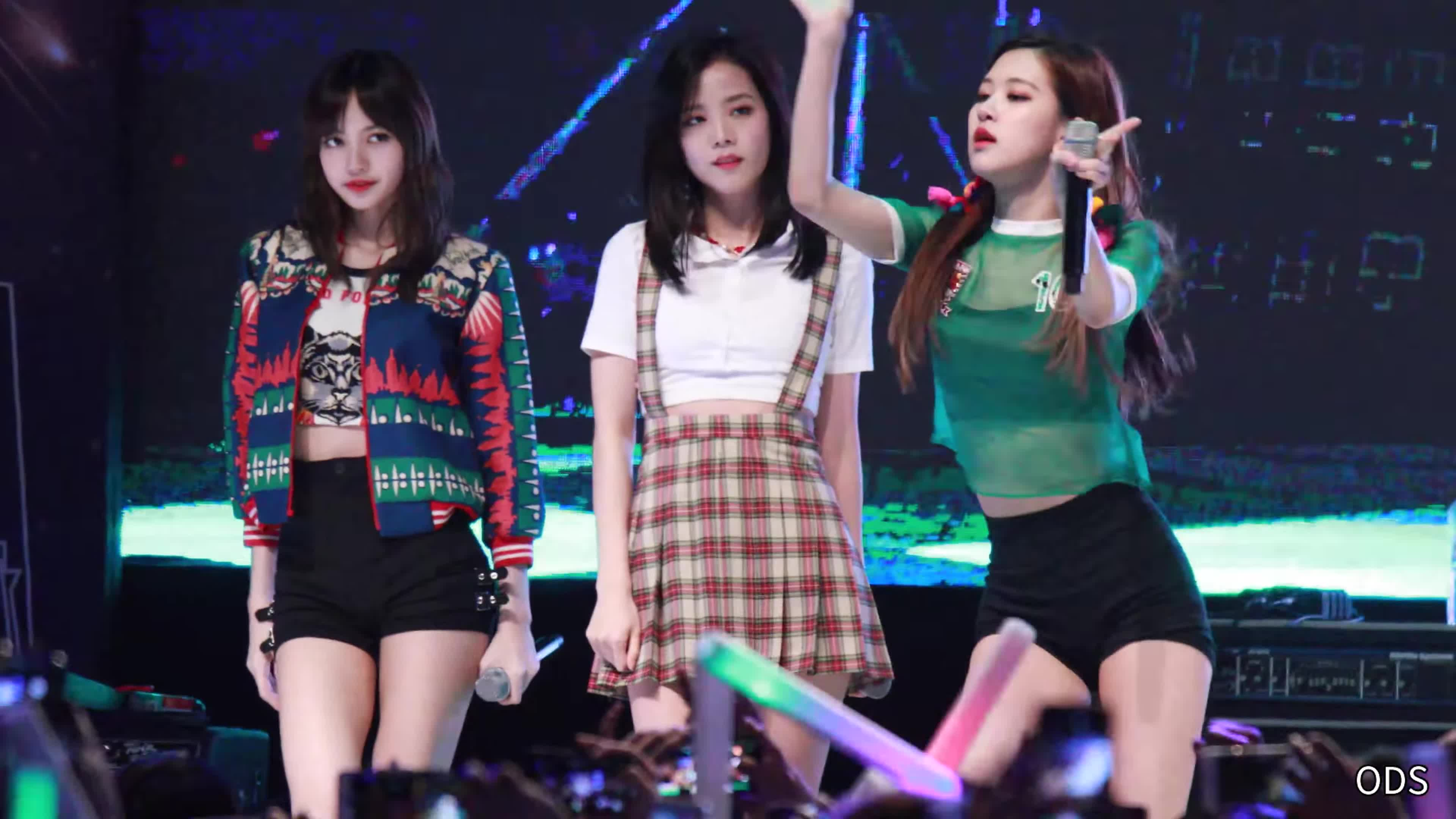 BlackPink Rose, Jisoo, and Lisa Lead GFY Low Bit Rate GIFs