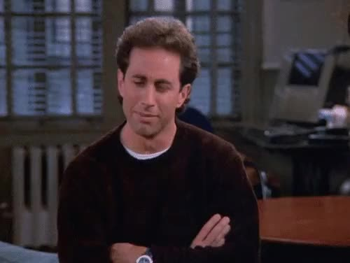 Watch and share Jerry Seinfeld GIFs and Salty GIFs on Gfycat