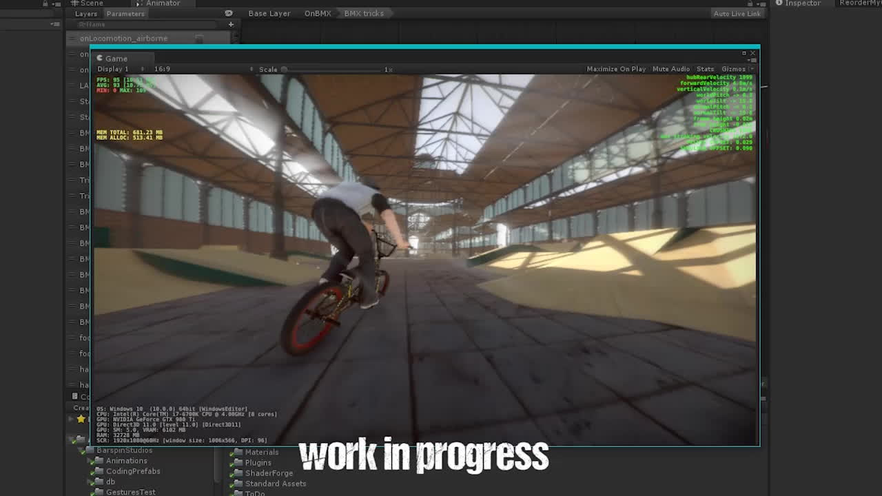 bmxthegame, bmx the game physics work in progress GIFs