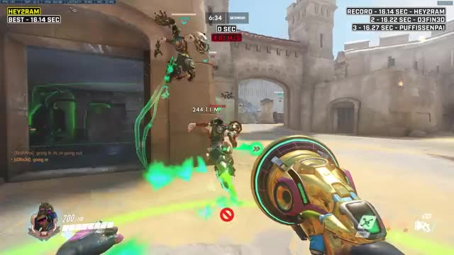 Watch and share Overwatch GIFs and Hey2grey GIFs by Hey2Grey on Gfycat