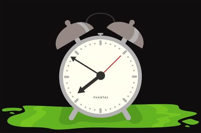 для детей анимационные открытки будильник далее несколько примеров