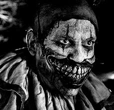 clown, creepy, scary clown pictures-twisty the clown GIFs