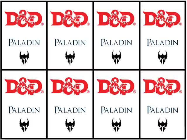 Watch and share Paladin Cards (back) GIFs by mreite on Gfycat
