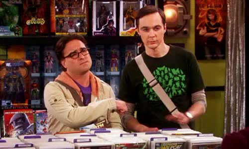 Watch and share Johnny Galecki GIFs and Jim Parsons GIFs on Gfycat