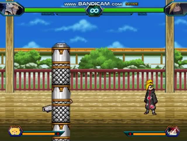 Watch and share Bleach VS Naruto 3.3 PC VERSION Glitch GIFs by [K]-Toum on Gfycat
