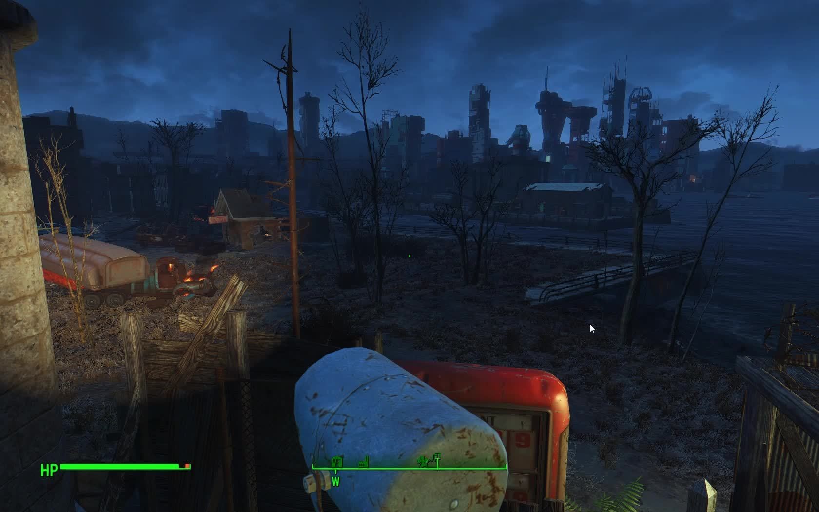 Fallout 4, FO4 Improved Workshop Lights mod GIFs