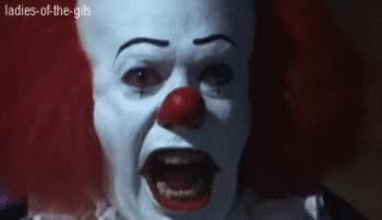 Watch and share It Clown GIFs on Gfycat