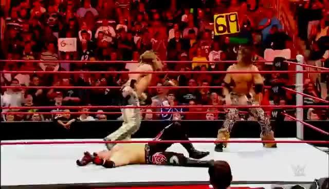 Watch and share Superkick Party: 37 Sick Superkicks: WWE Fury, February 1, 2015 GIFs on Gfycat