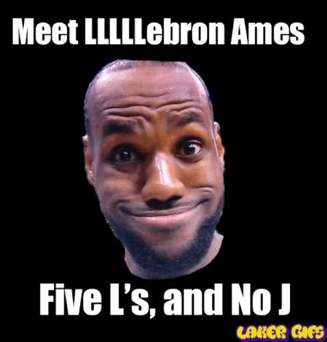 Watch LLLLLebron Ames. 5 L's and no J, 5 Finals Losses and No Jumper GIF on Gfycat. Discover more related GIFs on Gfycat