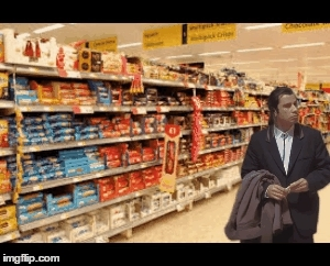 ConfusedTravolta, confusedtravolta, When i lose mom in the supermarket but i still have the grocery list (reddit) GIFs