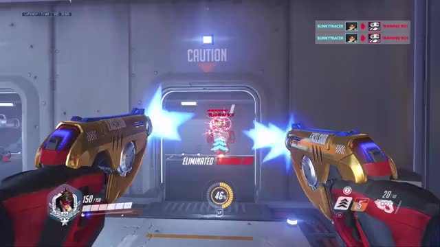 Watch blinkytracer OverwatchOriginsEdition 20180921 03-32-19 GIF on Gfycat. Discover more overwatch, tracer GIFs on Gfycat