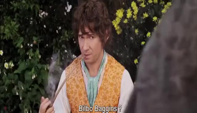 Watch bilbo GIF on Gfycat. Discover more the hobbit GIFs on Gfycat