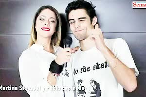 Watch and share Pablo Espinosa Gif GIFs and Martina Stoessel GIFs on Gfycat